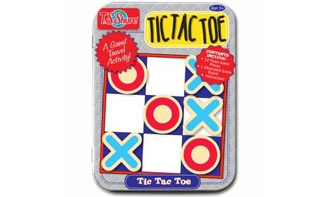 T.S. Shure - Tic Tac Toe Magnetic Game Mini Tin 245eac53-c40a-45c1-b2d6-03aa53c1f152