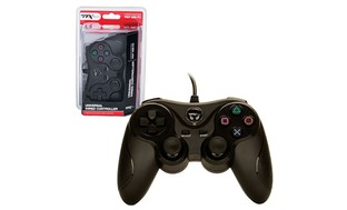 TTX Tech Universal Wired USB Controller For PC and Sony PlayStation...