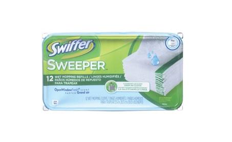 Swiffer 35154 Wet Pad Refill, 8