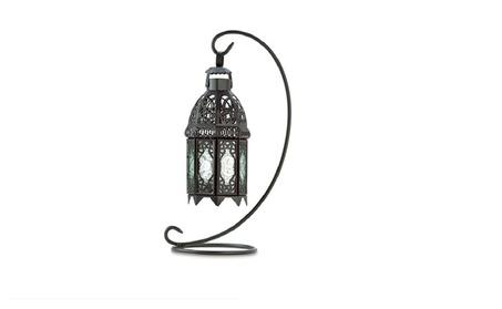 Metal Elegant Exotic Tabletop Lantern Candle Holder 14b96165-572f-4e8a-844c-575b3468d0a6