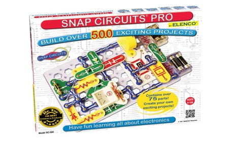 Snap Circuits PRO SC-500 Electronics Discovery Kit 634277bc-2e52-42d6-8512-ea10dc1c7a1c