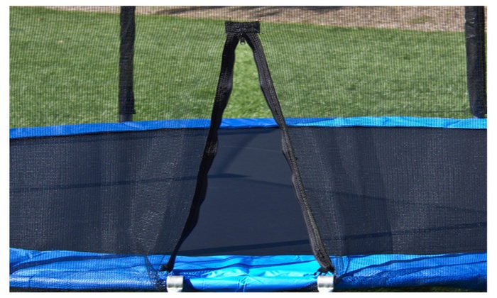 Up To 46 Off On 12 Ft Trampoline With Enclosu