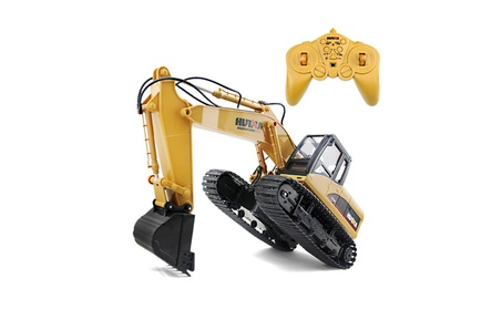 Toys 1350 15 Channel 2.4G 1/12 RC Excavator Charging 1:12 - Yellow 48e2a411-6aba-4ac5-a367-c58dff0b97b0