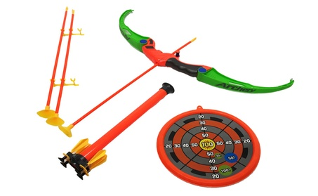 Apontus Bow and Arrow Toy Target Set d9ec46a3-d8be-4406-b3e0-7fe56cb45f04