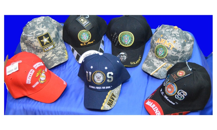 Official Licensed United States US Army Navy Marine Baseball Hat Cap