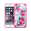 Insten Petunias Hard Tpu Case For Iphone 6 Plus 6s Plus Pink White