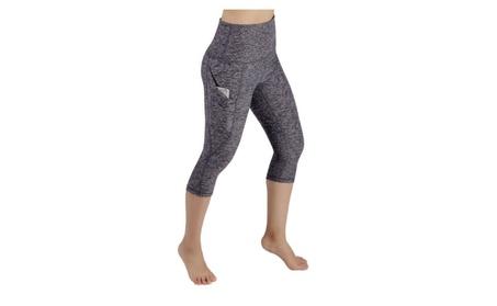 Women's High Waist Capri Leggings Yoga Activewear Many Colors 0ad5bb66-c57c-49ce-8935-d604c5125b3e