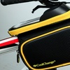 Waterproof Bicycle Phone Cover And  Dual Sided Saddle Bag Bike Tube Mounted