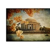 Jefferson Memorial by Lois Bryan 16x24 Canvas Print 16 x 24