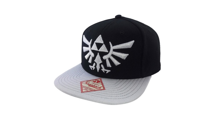 BioWorld Triforce The Legend of Zelda Snapback CAP One Size