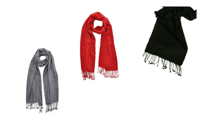 Premium Pashmina Scarf Indispensable During Winter of 3 Pack