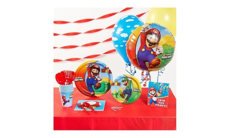 Super Mario Brothers Basic Party Supplies Pack 7c0e9fb5-9eab-4bb0-8bd8-d7169f5fe2e0