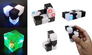 LED Infinite Magic Cube Stress Relief Toy