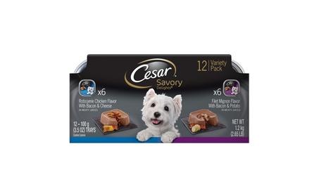 Cesar Savory Delights Rotisserie Chicken and Filet Mignon (12 Count) d93f0956-1b06-40bb-a571-6e946e680a02