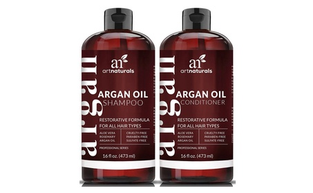Art Naturals Organic Moroccan Argan Oil Shampoo and Conditioner 2e5ced0a-1e99-47f6-81a0-ad7ea8093a26
