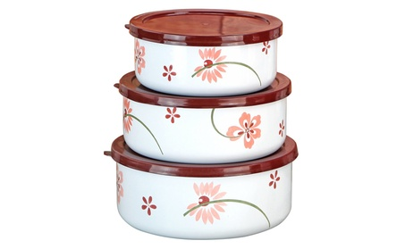 Reston Lloyd 04238 Pretty Pink Small Bowl Set - 6 Piece 5296954d-bb4a-4a55-b582-de6a4294636e