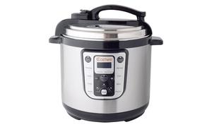 1250W 8 Quart Electric Pressure Cooker Programmable Multi-Use