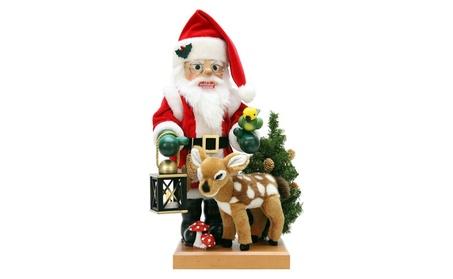 ULBR 0-476 Christian Ulbricht Nutcracker - Santa and Bambi 2c18f7ec-cb51-4e77-919e-8de88eea92ac