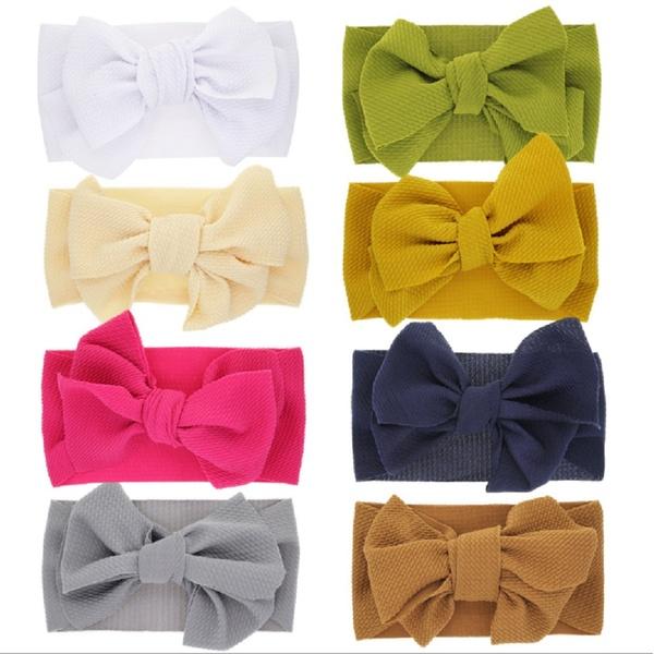 79C3 F980 Bow Hair Band Headband For Babies Kids Girls Headwear Hair Accessories