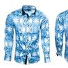 """""""Speck"""" Blue Button Down Shirt"""