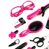 Cute Girl Hairdresser Pretend Play Toy Fashion Beauty Play Set