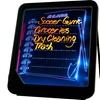 Trademark Home LED Writing Menu Message Board