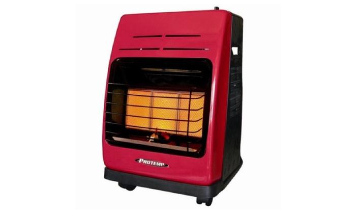 Pro-Temp 18,000 BTU Portable Propane Radiant Compact Heater
