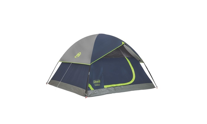... Groupon Goods Coleman Sundome 3-Person Dome Tent 7x7  sc 1 st  Groupon : coleman 7x7 tent - memphite.com