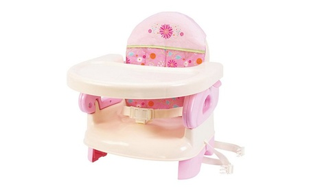 Summer Infant Deluxe Comfort Folding Booster Seat - Pink