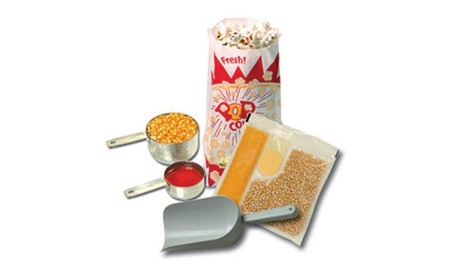 Benchmark USA 45008 Popcorn Starter Kit for 8 Oz. poppers 74ee7e8c-490f-46f1-b2b9-3412a9e6788c