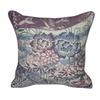 "Loom and Mill Home Decor 22""X22"" Purple Boquet Decorative Pillow"
