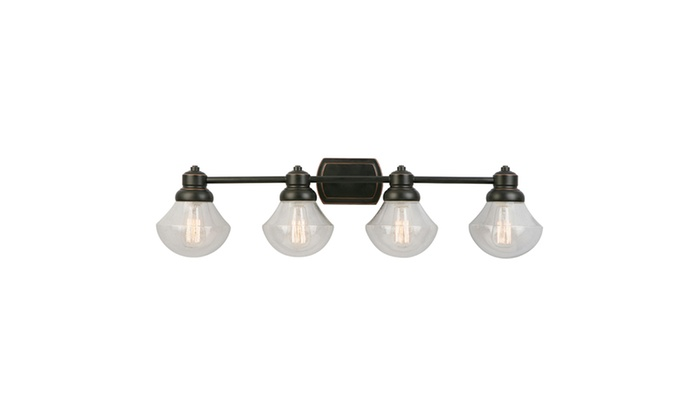 design house sawyer vanity light oil rubbed bronze groupon