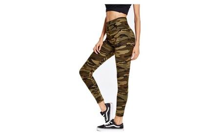 High Waist Printed Leggings for Women