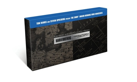 Band of Brothers/The Pacific: Special Edition Gift Set (BD) 72f286de-8205-45d0-8505-de92f4606d41