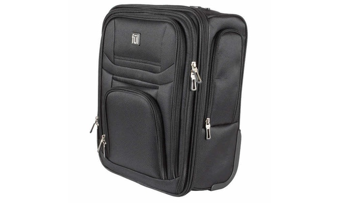 737743497d2b Ful Pilot Under-Seat Carry-On Luggage Black | Groupon