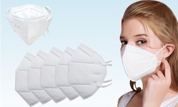KN95 Face Masks With Multi Layer Breathable Fabric And Elasic Ear Loops