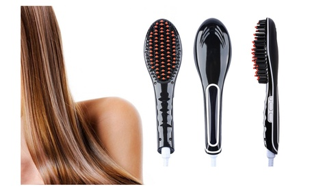 LCD Professional Style Ceramic Hair Straightener Brush 60dfb1d9-1cb5-4a35-9e17-5a17cd04ebb1