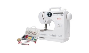 Sunbeam SB1818 Compact Sewing Machine with 100-Piece Sewing Kit