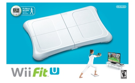 Wii Fit U with Wii Balance Board and Fit Meter