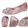 Crystal and Rhinestones Embellished Flats
