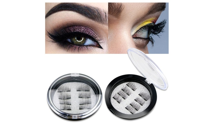 241d39369ad BeaLuz Magnetic False Eyelashes Reusable 3D Ultra Thin (8 Pieces) | Groupon