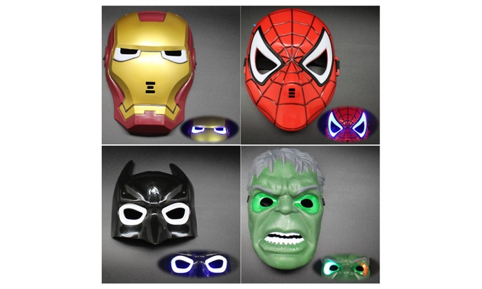 Superhero LED Mask