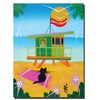 Herbert Hofer 'Life Guard' Canvas Art