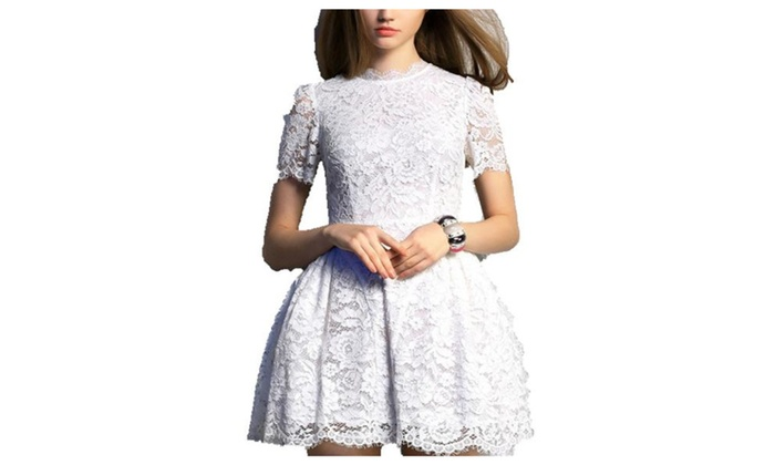 Women's Solid Casual Mid Rise Simple Casual Dresses