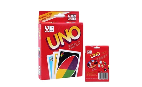 Standard 108 UNO Playing Cards Game For Family Friend Travel Fun Toy 1eec3ac4-8ec6-4c4f-8d8a-29cbb518fc6f