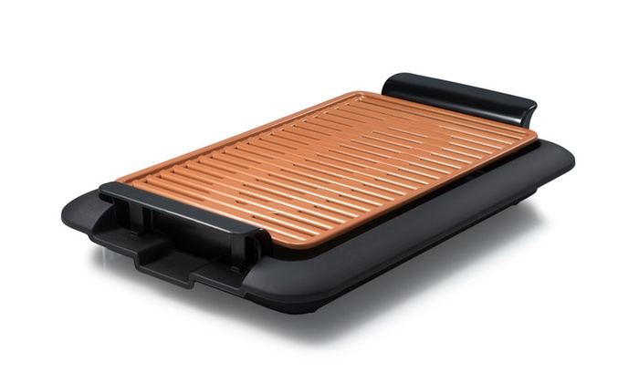 Up To 37 Off On Gotham Steel Electric Grill Groupon Goods