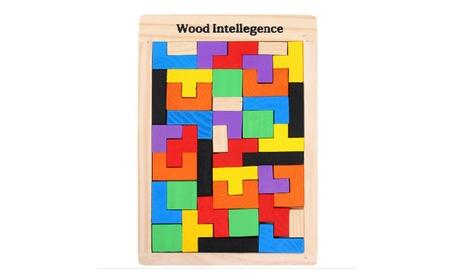Kids Wooden Tetris Puzzle Educational Toy Brain Puzzle Brinquedos 7e446a52-21f4-4c32-a9af-c2ebcabaff41