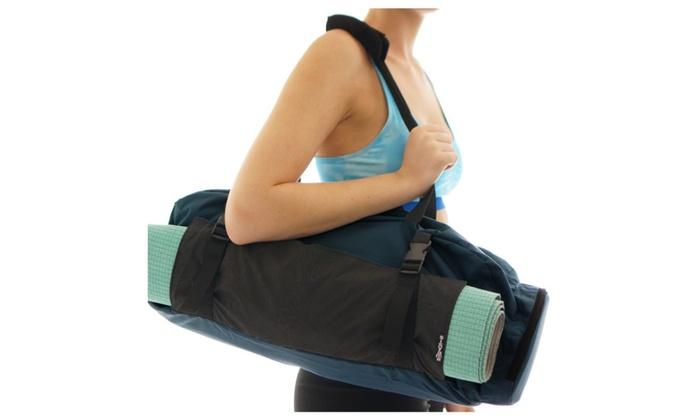 217a782915cd Yoga Mat Gym Bag Tote Carryall - Waterproof Bag + Harness Mat ...
