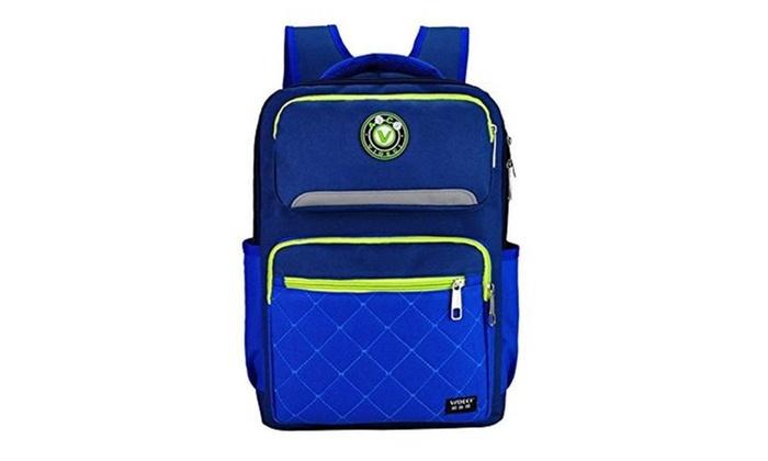 Casche Boys Latest Back Packs Kids School Backpack Book Bags - Blue / Medium