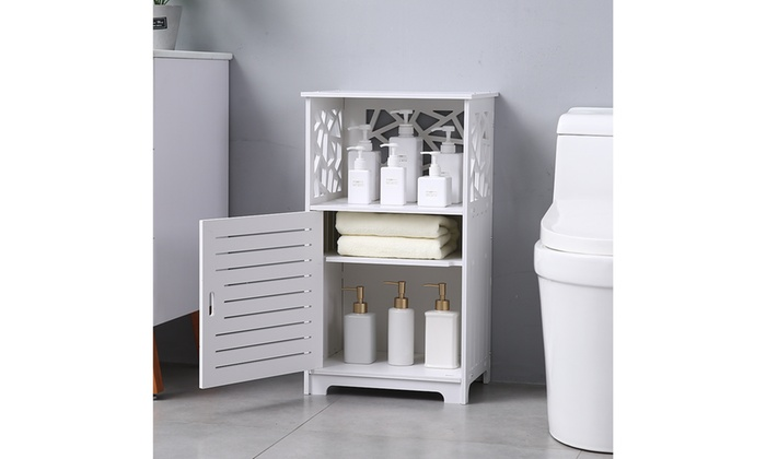 Up To 12 Off On Bathroom Storage Corner Floor Groupon Goods